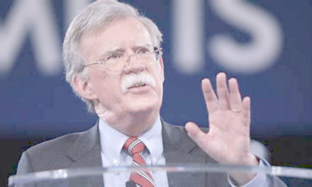 Let Us All Take a Collective Deep Breath – John Bolton Will Be Nothing More than a Distraction