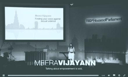 Meera Vijayann – Find Your Voice Against Gender Violence