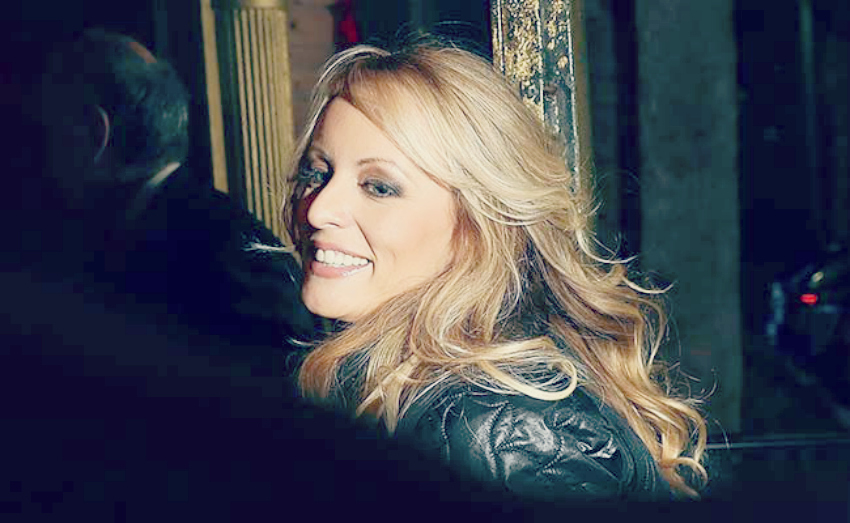 EXCLUSIVE: Stormy Daniels Gives Confluence Daily an In-Person 1 Question Interview (After She Took Off Her Clothes)