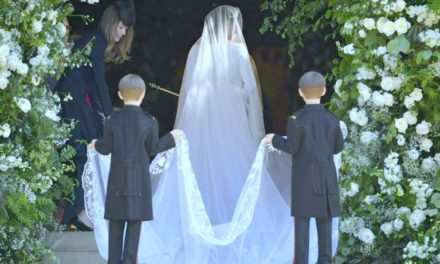 WHY ROYAL WEDDINGS MATTER, PART 9: WHAT THE VEIL REVEALS: MEGHAN FOLLOWS DIANA'S LEAD