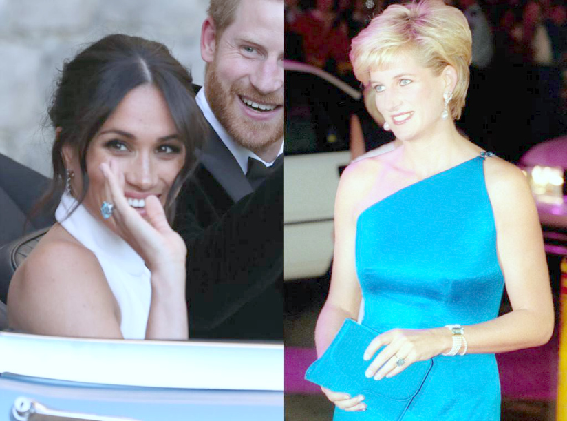 WHY ROYAL WEDDINGS MATTER PART 10: TOKENS OF ABUNDANCE & LOVE: MEGHAN REMEMBERS PRINCESS DIANA