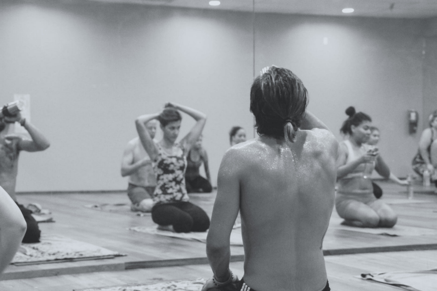 What a Hot Yoga Class Can Teach You About Business, Life and Touching Your Eyebrow With Your Foot