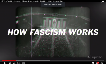 New York Times: If You're Not Scared About Fascism in the U.S., You Should Be