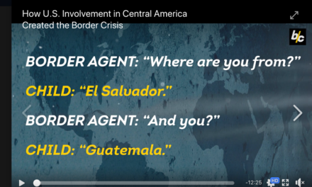 How U.S. Involvement in Central America Created the Border Crisis