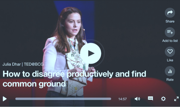 Julia Dhar – How to Disagree Productively and Find Common Ground