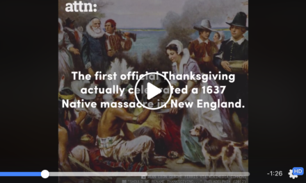 Don't Be Afraid to Talk About the Real History of Thanksgiving