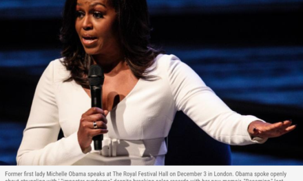 MICHELLE OBAMA TELLS A SECRET: 'I HAVE BEEN AT EVERY POWERFUL TABLE YOU CAN THINK OF… THEY ARE NOT THAT SMART'