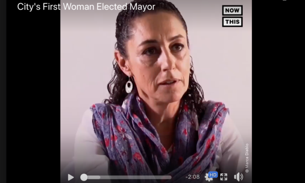 Claudia Sheinbaum Becomes Mexico City's First Woman Elected Mayor