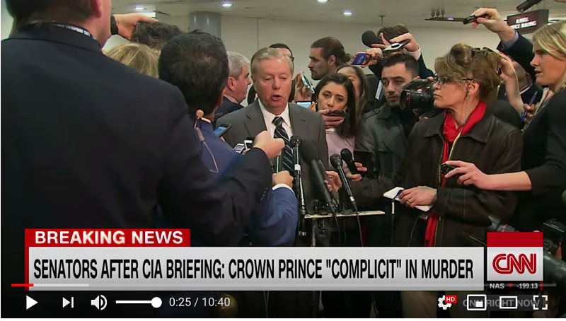 Lindsey Graham: We've turned a hard corner in the right direction and it was easy to miss