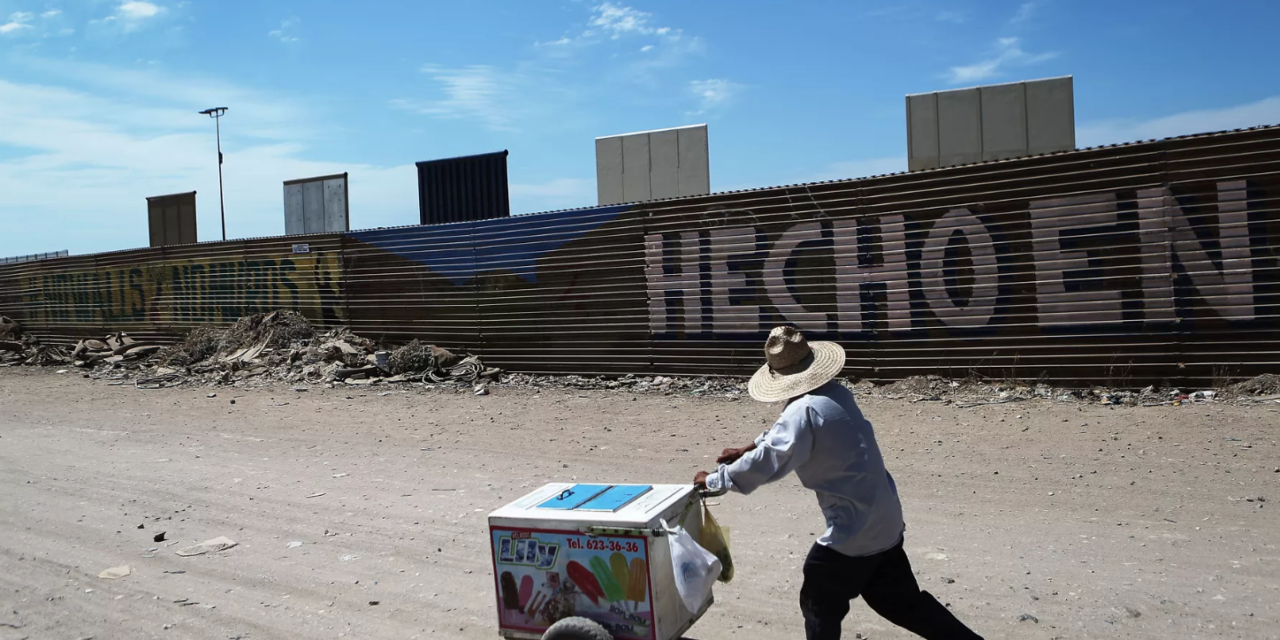 Vox:  What's actually happening at the US-Mexico border, explained