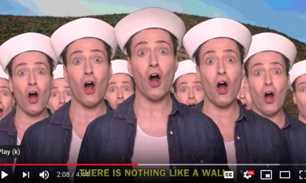 THERE IS NOTHIN' LIKE A WALL – Randy Rainbow Song Parody