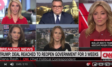 Dana Bash: Trump caved on border wall, no other way to describe it
