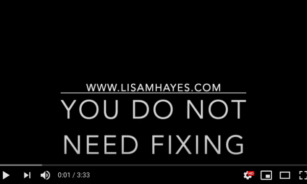 You Don't Need Fixing