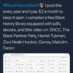 Amazing, Comprehensive, Free Black History Library