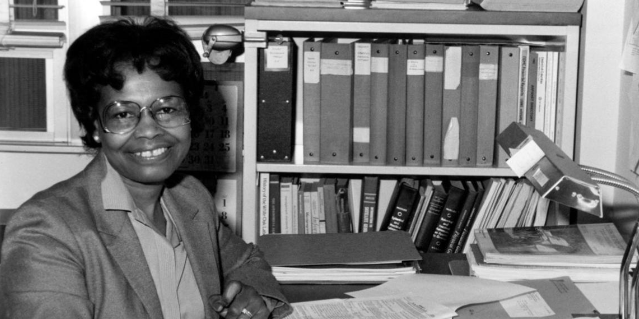 Dr. Gladys West in her Early Career