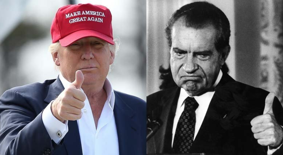 Time:  President Trump Used the State of the Union to Call for an End to Investigations. So Did Nixon