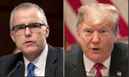 CNN: McCabe confirms talks held at Justice Dept. about removing Trump