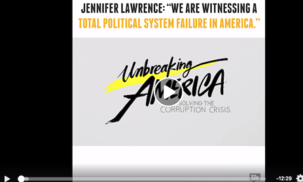 Jennifer Lawrence is 'Unbreaking America's Political System Failure