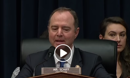 Adam Schiff is Just Not Having It Anymore and No, He will Not Yield