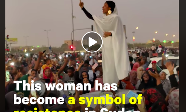 Protester Alaa Salah Brings Global Attention to Sudan