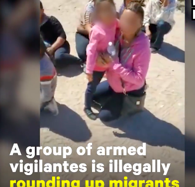 Armed Vigilante Group The United Constitutional Patriots is Illegally Arresting Migrants at New Mexico Border