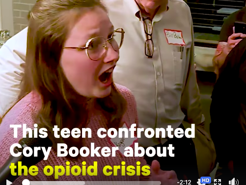 Sen. Cory Booker Answers Teen's Questions on Facing the Addiction Crisis