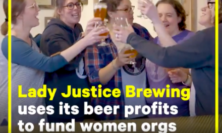 This women-led brewery is challenging industry stereotypes while giving back