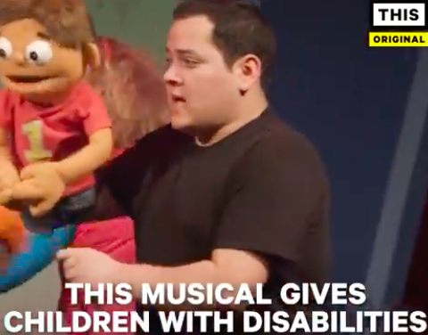 Watching how kids react to this musical about people with disabilities is a beautiful thing