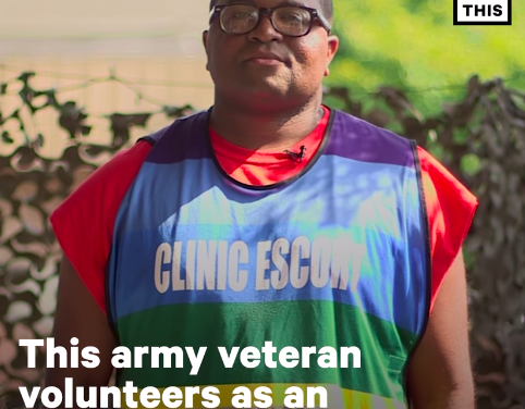 This Army Veteran Volunteers as an Abortion Clinic Escort