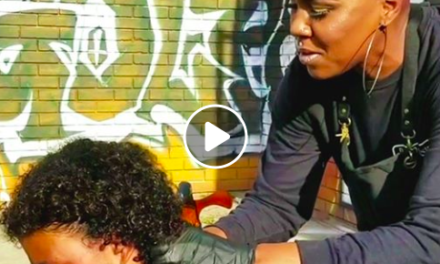 This woman offers makeovers to homeless people on Skid Row.