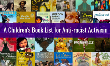 Embracerace:   31 CHILDREN'S BOOKS TO SUPPORT CONVERSATIONS ON RACE, RACISM & RESISTANCE