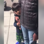 A crying boy begged his father not to call the p0lice on a black man. The father did it anyway.