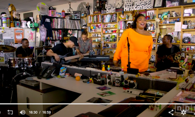 Lizzo: Tiny Desk Concert – A lesson in joyfully owning your space
