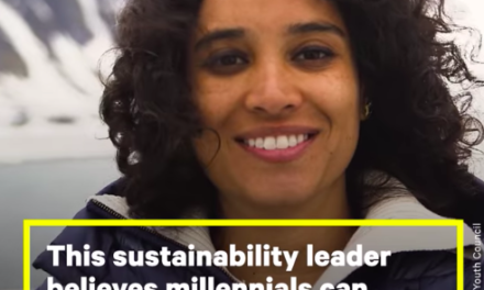Video: This sustainability leader believes young people are the key to solving the climate crisis.