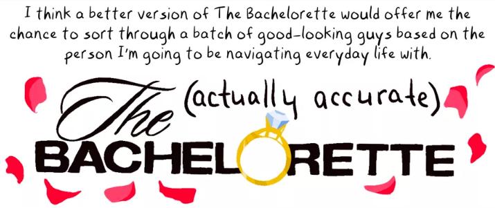 Vox:  The (actually accurate) Bachelorette