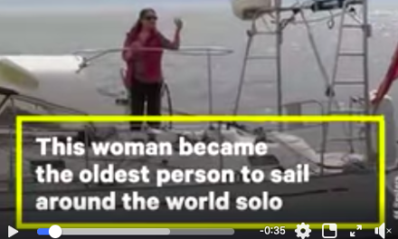 At 77, this woman now holds the record for oldest person to sail around the world solo