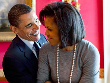 Huffpo: Michelle Obama Pens Sweet Anniversary Note To Barack: 'Still Feeling The Magic'