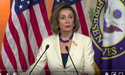 Video – Pelosi: Impeachment has absolutely nothing to do with politics